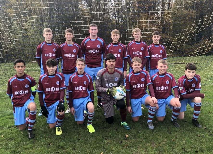 Duffield Dynamo U15s Sponsored by Eden Tyres & Servicing