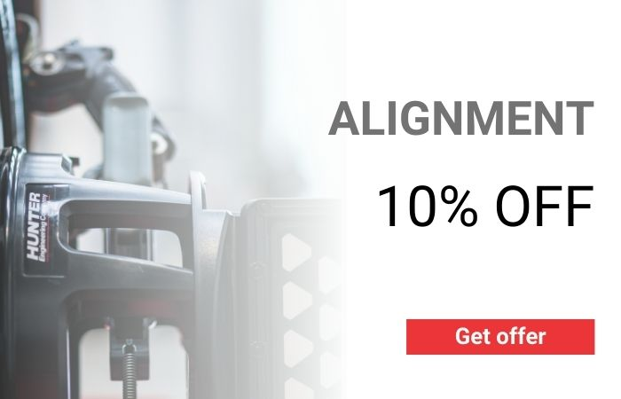 10% OFF ALIGNMENT