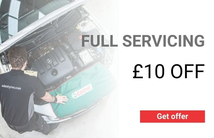 £10 OFF FULL SERVICING