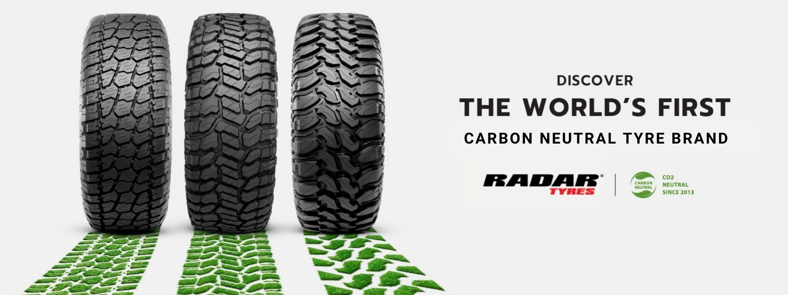 Radar tyres carbon neutral banner