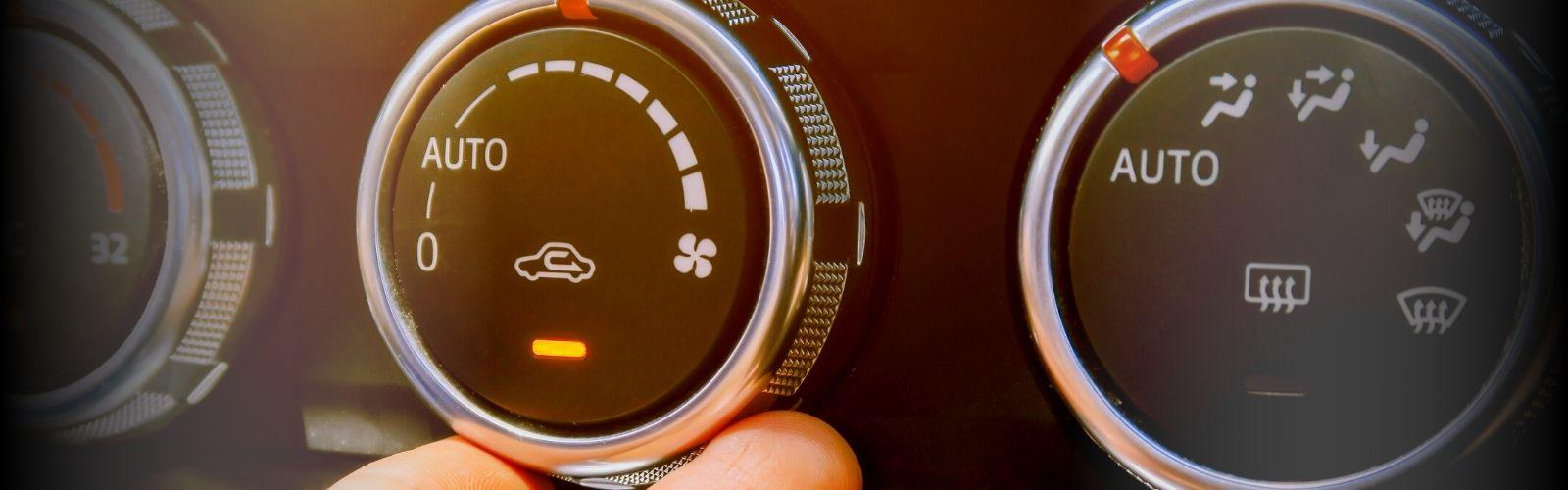 air recirculation button in car