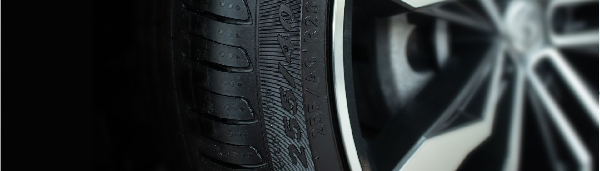 tyre size banner